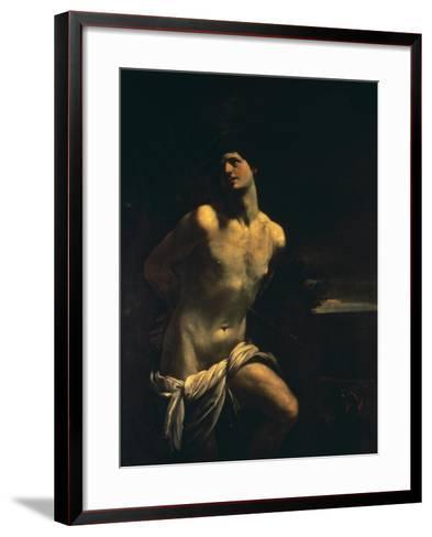 St. Sebastian-Guido Reni-Framed Art Print