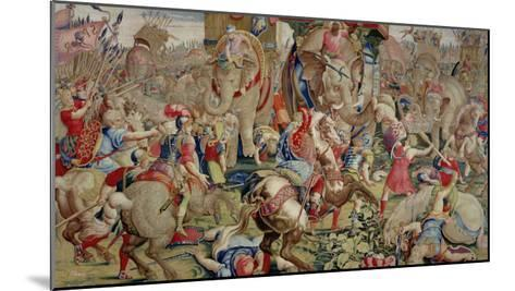 The Battle of Zama, by Giulio Romano--Mounted Giclee Print