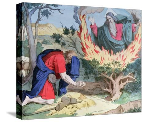 Moses and the Burning Bush, 1860--Stretched Canvas Print