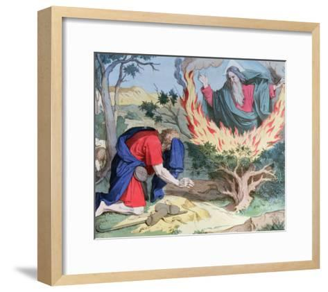 Moses and the Burning Bush, 1860--Framed Art Print
