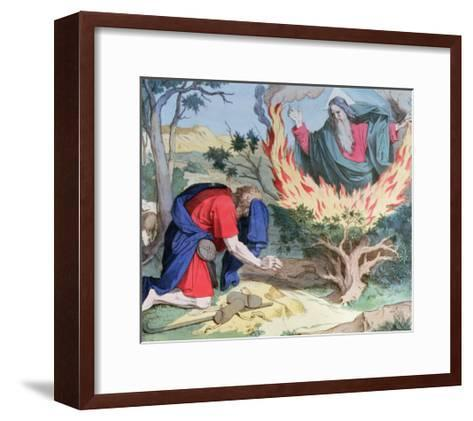 Moses and the Burning Bush, 1860--Framed Art Print