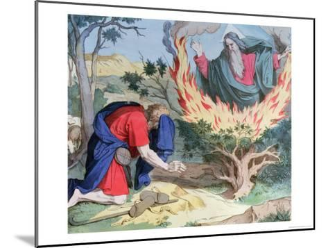 Moses and the Burning Bush, 1860--Mounted Giclee Print
