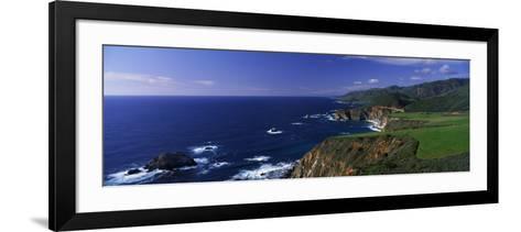 Pacific Coast, Big Sur, California, USA--Framed Art Print