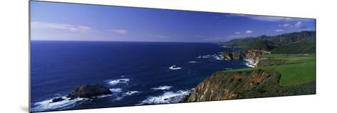 Pacific Coast, Big Sur, California, USA--Mounted Photographic Print