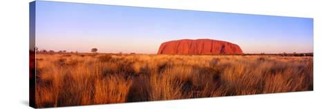 Ayers Rock, Uluru-Kata Tjuta National Park, Australia--Stretched Canvas Print