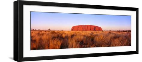 Ayers Rock, Uluru-Kata Tjuta National Park, Australia--Framed Art Print