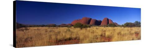 Mount Olga, Uluru-Kata Tjuta National Park, Australia--Stretched Canvas Print