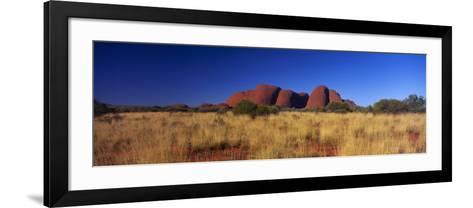 Mount Olga, Uluru-Kata Tjuta National Park, Australia--Framed Art Print