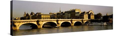 Pont Neuf Bridge, Paris, France--Stretched Canvas Print