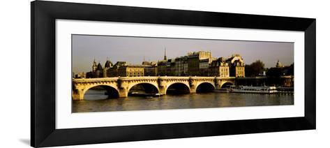 Pont Neuf Bridge, Paris, France--Framed Art Print