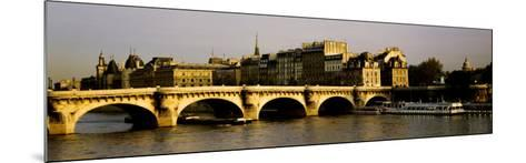 Pont Neuf Bridge, Paris, France--Mounted Photographic Print