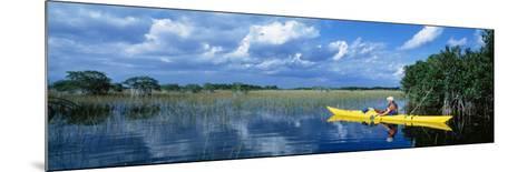 Kayaker in Everglades National Park, Florida, USA--Mounted Photographic Print