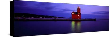 Big Red Lighthouse, Holland, Michigan, USA--Stretched Canvas Print