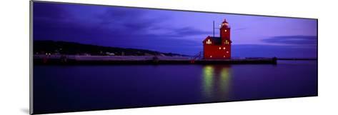 Big Red Lighthouse, Holland, Michigan, USA--Mounted Photographic Print