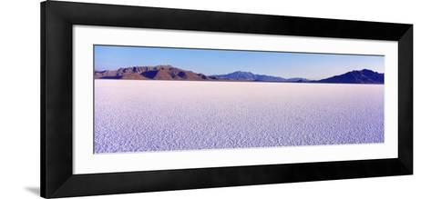 Bonneville Salt Flats, Utah, USA--Framed Art Print