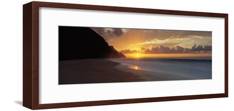 Kalalau Beach, Hawaii, USA--Framed Art Print