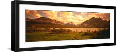Saint Mary Lake, Montana, USA--Framed Art Print