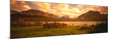 Saint Mary Lake, Montana, USA--Mounted Photographic Print