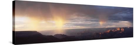 Storm Cloud Over a Landscape, Grand Canyon National Park, Arizona, USA--Stretched Canvas Print