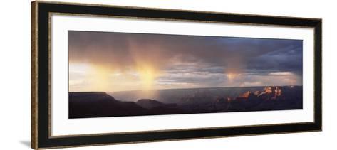 Storm Cloud Over a Landscape, Grand Canyon National Park, Arizona, USA--Framed Art Print