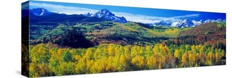 San Juan Mountains, Colorado, USA--Stretched Canvas Print