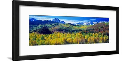 San Juan Mountains, Colorado, USA--Framed Art Print