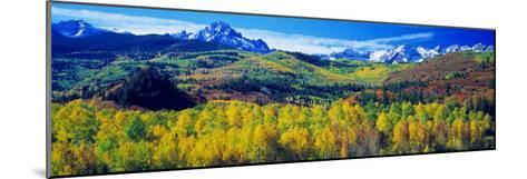 San Juan Mountains, Colorado, USA--Mounted Photographic Print
