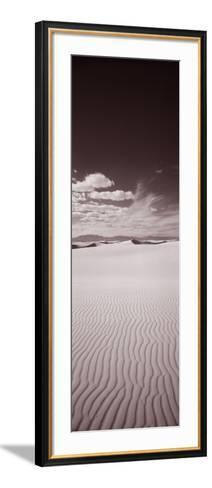 Dunes, White Sands, New Mexico, USA--Framed Art Print