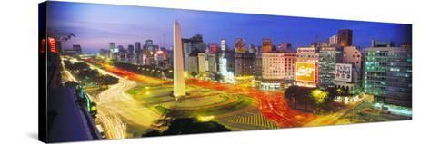 Plaza De La Republica, Buenos Aires, Argentina--Stretched Canvas Print