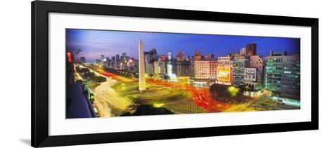 Plaza De La Republica, Buenos Aires, Argentina--Framed Art Print