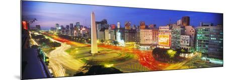 Plaza De La Republica, Buenos Aires, Argentina--Mounted Photographic Print