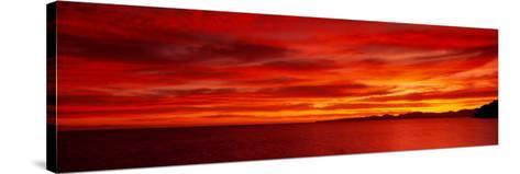 Sunrise, Water, Mulege, Baja, California, Mexico, United States--Stretched Canvas Print