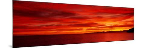 Sunrise, Water, Mulege, Baja, California, Mexico, United States--Mounted Photographic Print