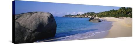 Boulders on the Beach, the Baths, Virgin Gorda, British Virgin Islands--Stretched Canvas Print