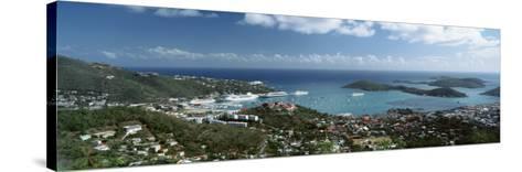 US Virgin Islands, St. Thomas, Charlotte, Amalie--Stretched Canvas Print