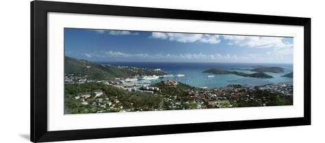 US Virgin Islands, St. Thomas, Charlotte, Amalie--Framed Art Print