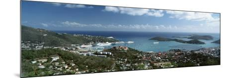 US Virgin Islands, St. Thomas, Charlotte, Amalie--Mounted Photographic Print