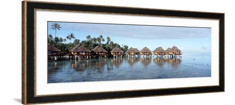 Lagoon Resort, Island, Water, Beach, Bora Bora, French Polynesia--Framed Art Print