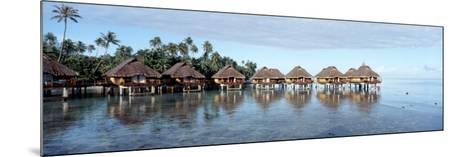 Lagoon Resort, Island, Water, Beach, Bora Bora, French Polynesia--Mounted Photographic Print