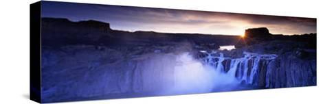 Shoshone Falls, Snake River, Idaho, USA--Stretched Canvas Print
