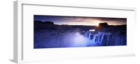 Shoshone Falls, Snake River, Idaho, USA--Framed Art Print