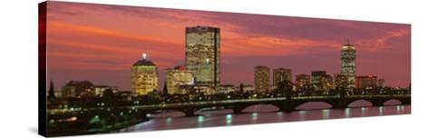 Back Bay, Boston, Massachusetts, USA--Stretched Canvas Print