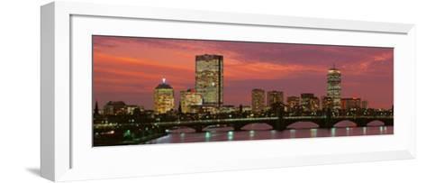 Back Bay, Boston, Massachusetts, USA--Framed Art Print