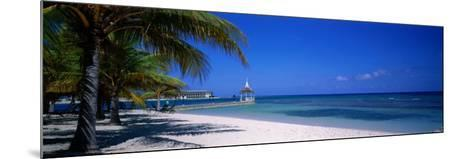 Beach at Half Moon Hotel, Montego Bay, Jamaica--Mounted Photographic Print