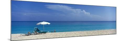 Beach Scene, Nassau, Bahamas--Mounted Photographic Print