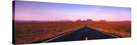 Road Monument Valley, Utah, USA--Stretched Canvas Print