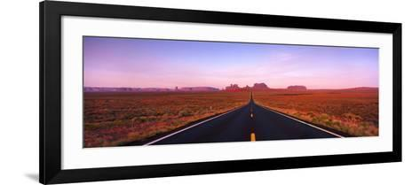 Road Monument Valley, Utah, USA--Framed Art Print