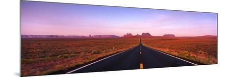 Road Monument Valley, Utah, USA--Mounted Photographic Print