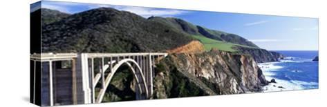 Bixby Creek Bridge, Big Sur, California, USA--Stretched Canvas Print