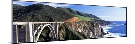 Bixby Creek Bridge, Big Sur, California, USA--Mounted Photographic Print